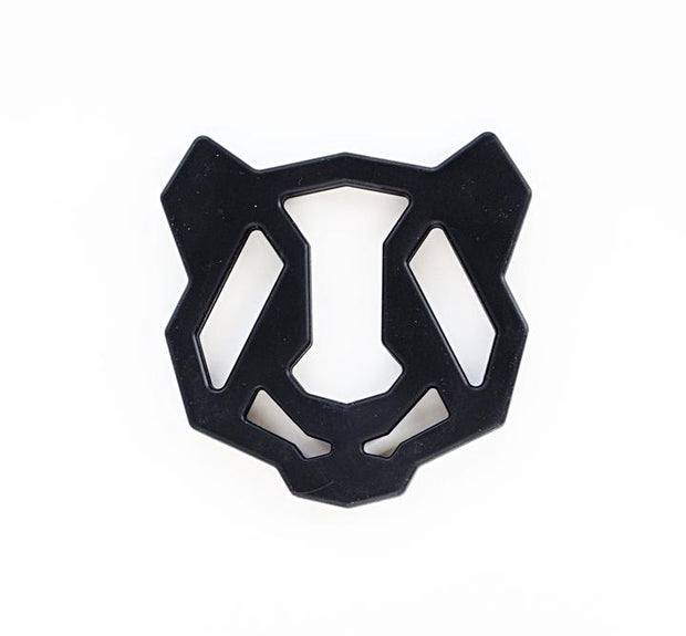 Panda Geometric Silicone Teether