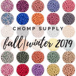 9mm LE FALL WINTER COLLECTION Silicone Beads