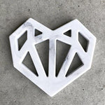 Heart Geometric Silicone Teether