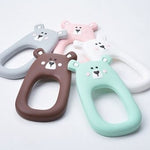 Brave Bear Silicone Teether