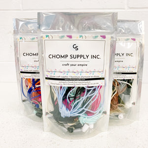 Chomp Craft Party Kits - Cord & Accessories