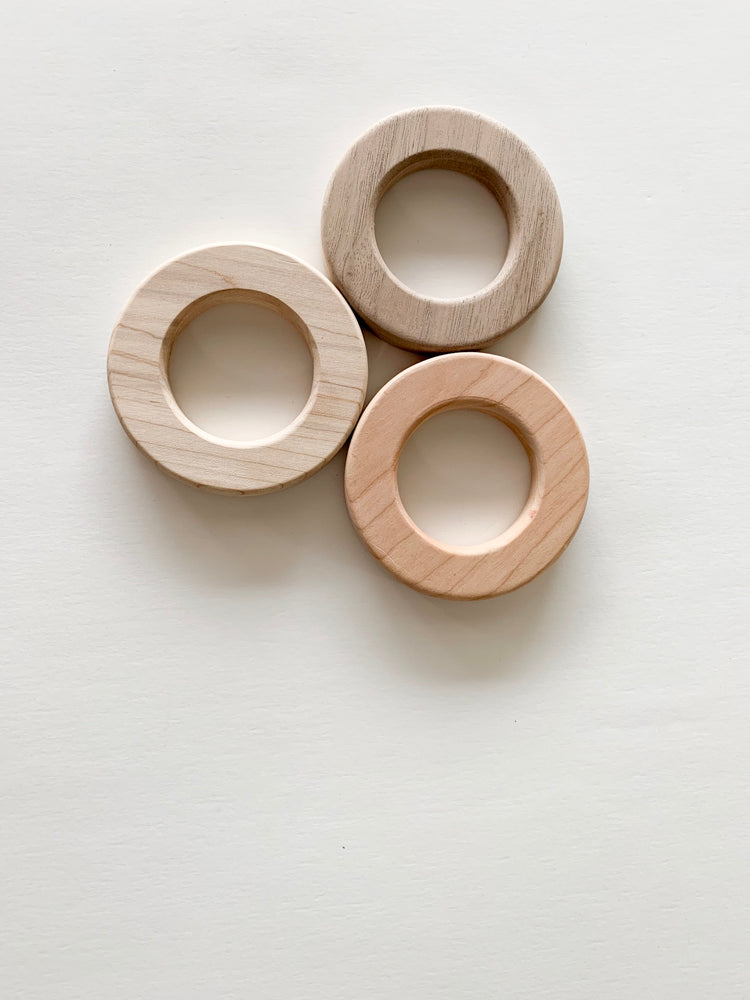 "2.5"" Small Cherry Chomp Supply Wood Ring"