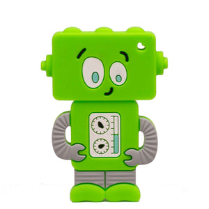 Robot Silicone Teether