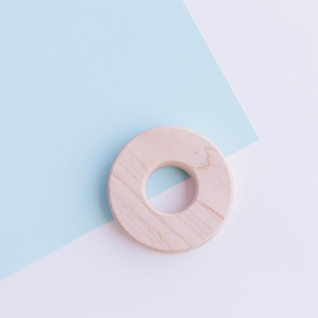 "2.5"" Small Maple Chomp Supply Wood Ring"