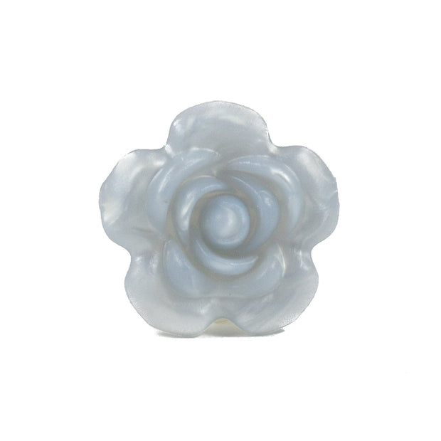 Large Rose Flowers - Chomp Chew Bead Designs - Wholesale Silicone Beads for Teething and DIY Chewelry Making