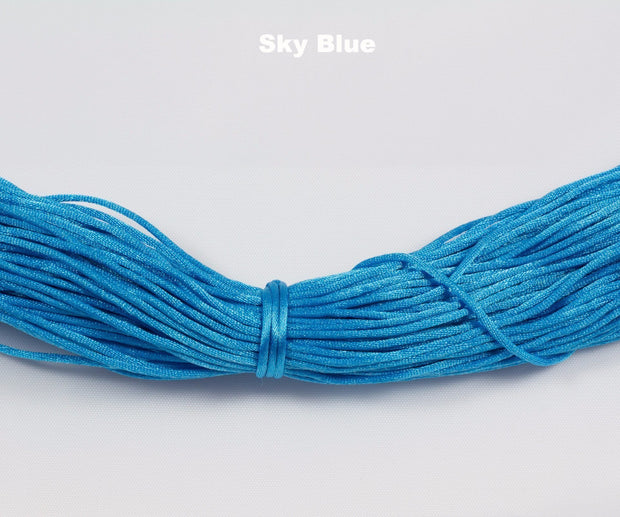 Regular Nylon Cord - Sold by length - Chomp Chew Bead Designs - Wholesale Silicone Beads for Teething and DIY Chewelry Making