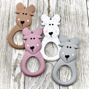 Moose Silicone Teether