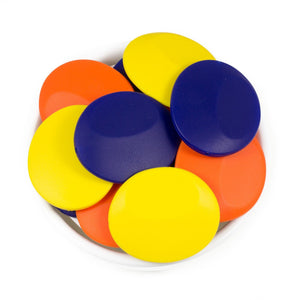 Flat Rounds - Chomp Chew Bead Designs - Wholesale Silicone Beads for Teething and DIY Chewelry Making