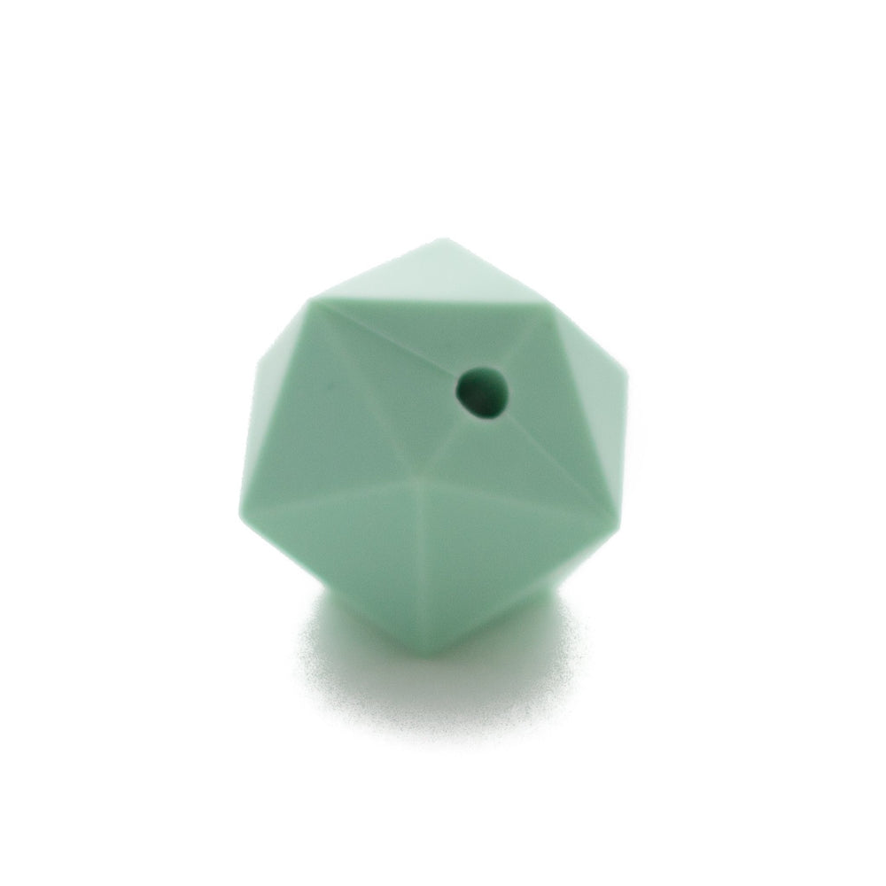 Icosahedrons - Chomp Chew Bead Designs - Wholesale Silicone Beads for Teething and DIY Chewelry Making