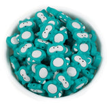 Mini Raccoon Silicone Beads - Chomp Chew Bead Designs - Wholesale Silicone Beads for Teething and DIY Chewelry Making