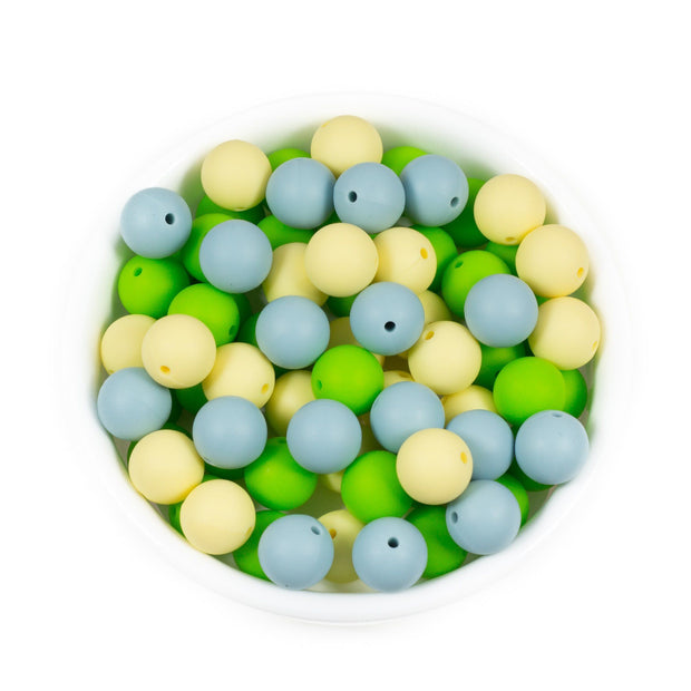 Round 15mm - Chomp Chew Bead Designs - Wholesale Silicone Beads for Teething and DIY Chewelry Making