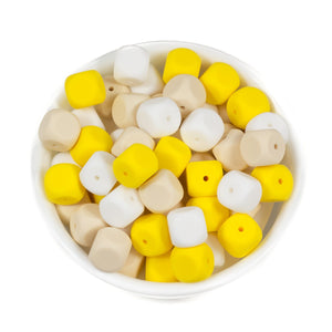 Square Dice - Chomp Chew Bead Designs - Wholesale Silicone Beads for Teething and DIY Chewelry Making