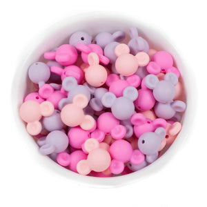 Mouse Ears - Chomp Chew Bead Designs - Wholesale Silicone Beads for Teething and DIY Chewelry Making