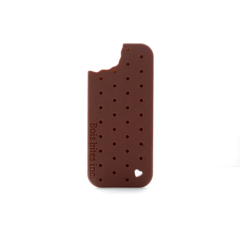 Ice Cream Sandwich Silicone Teether