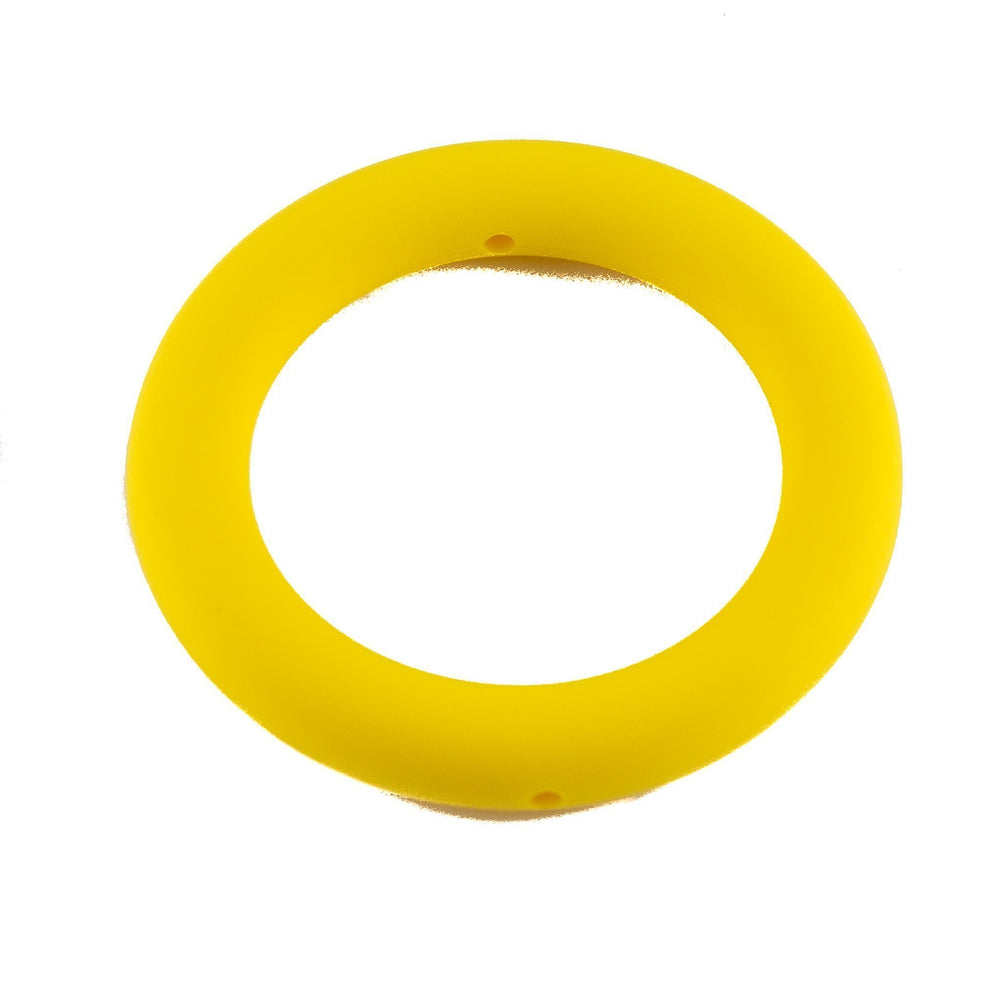 Large Silicone Teething Rings - Chomp Chew Bead Designs - Wholesale Silicone Beads for Teething and DIY Chewelry Making