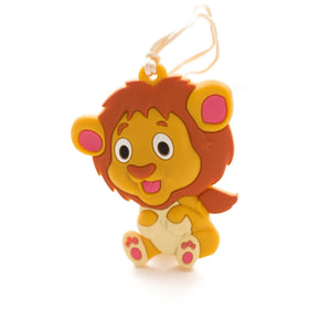 Lion Silicone Teether - Chomp Chew Bead Designs - Wholesale Silicone Beads for Teething and DIY Chewelry Making