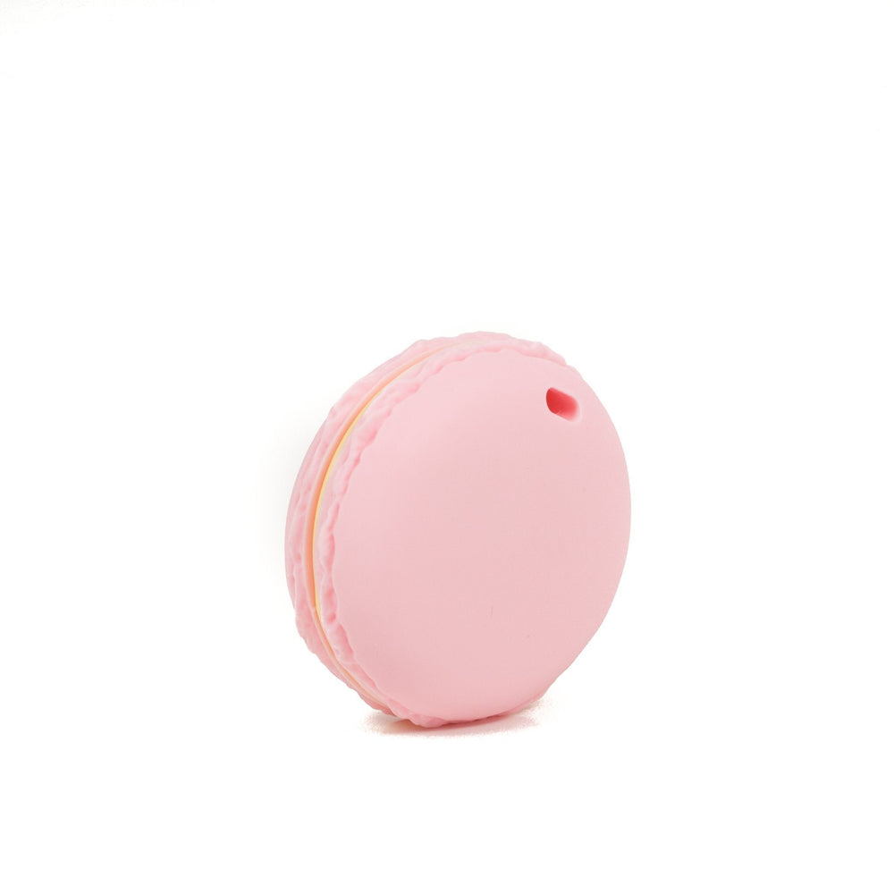 Macaron Silicone Teether - Chomp Chew Bead Designs - Wholesale Silicone Beads for Teething and DIY Chewelry Making