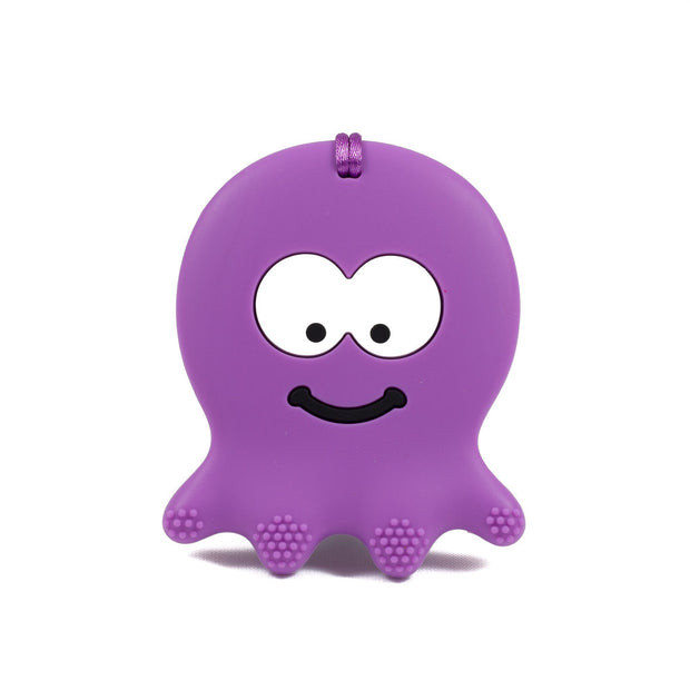 Octopus Silicone Teether - Chomp Chew Bead Designs - Wholesale Silicone Beads for Teething and DIY Chewelry Making