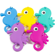 Seahorse Silicone Teether - Chomp Chew Bead Designs - Wholesale Silicone Beads for Teething and DIY Chewelry Making