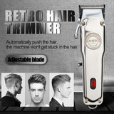 Rechargeable Hair Clipper Cordless All Metal