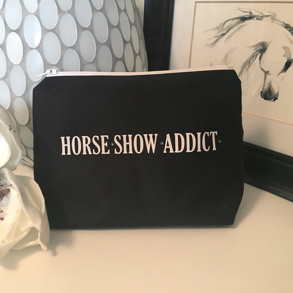 Make Up Bag - Horse Show Addict