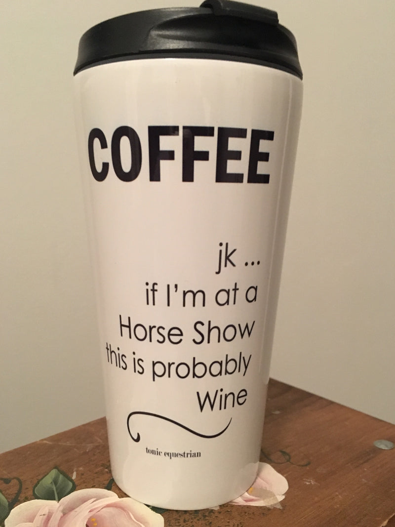 Coffee or Wine Travel Mug