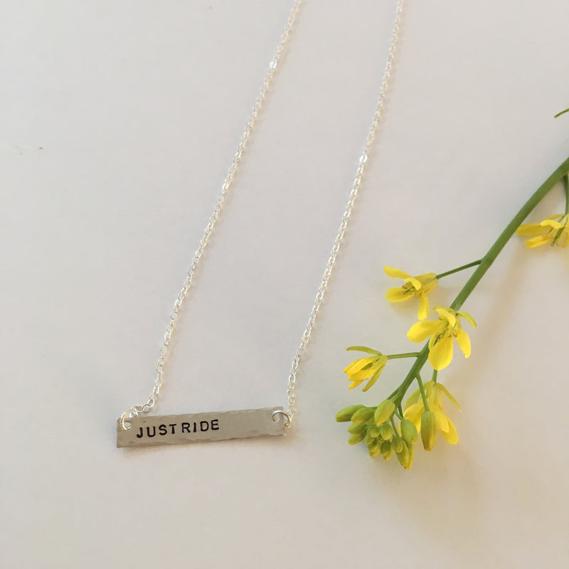 Just Ride Necklace