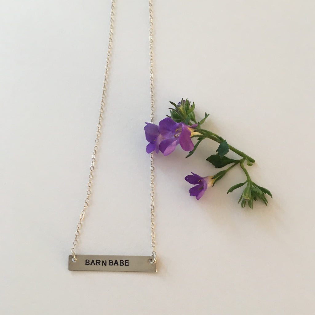 Barn Babe Necklace