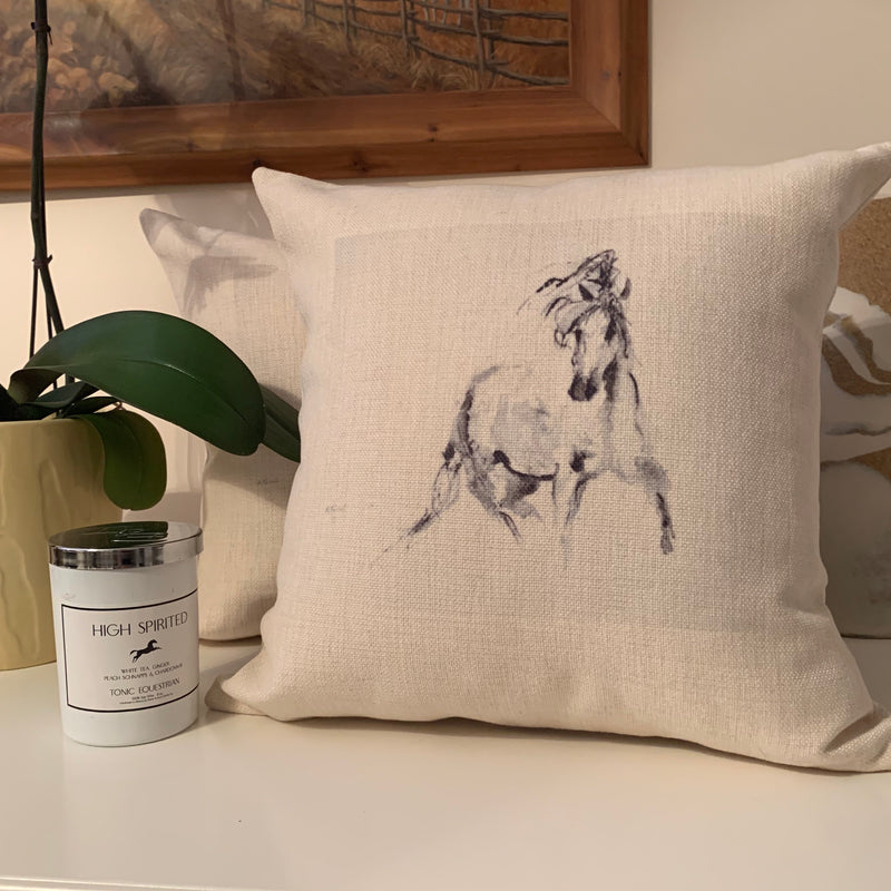 High Spirited Decorative Pillow