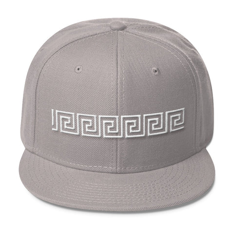 Black and White Poetic Gangster Blend Snapback