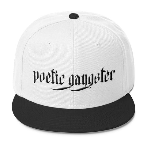 Poetic Gangster Grey Blend Snapback