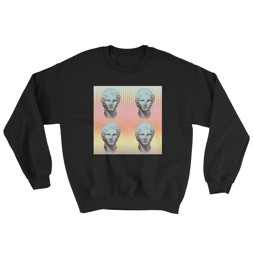 Faded Caesar Sweater - Poetic Gangster