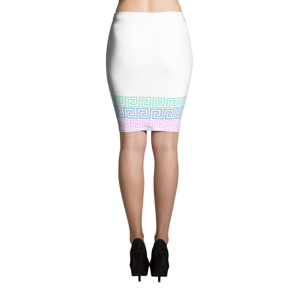 CHAIN PENCIL SKIRT - Poetic Gangster