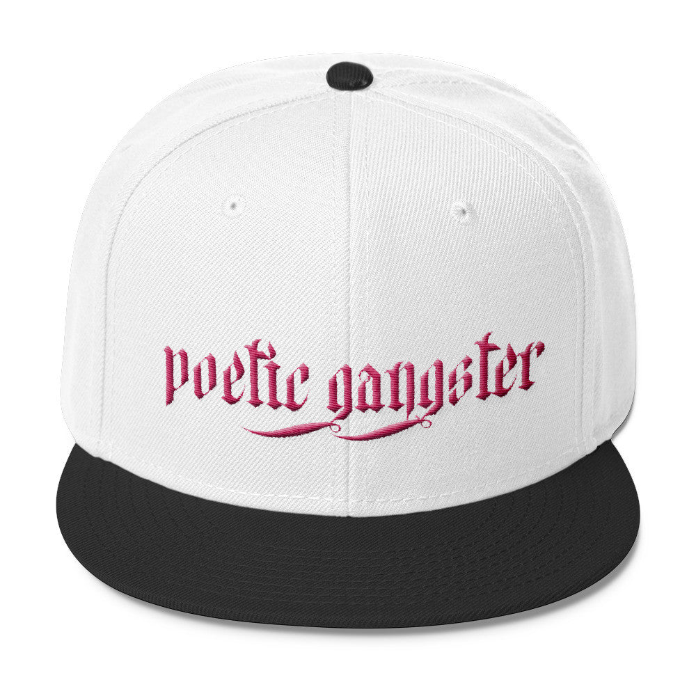 Poetic Gangster pink Snapback - Poetic Gangster