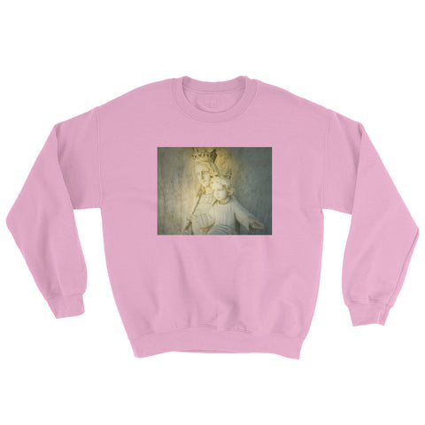Retro Caesar Pink Sweater