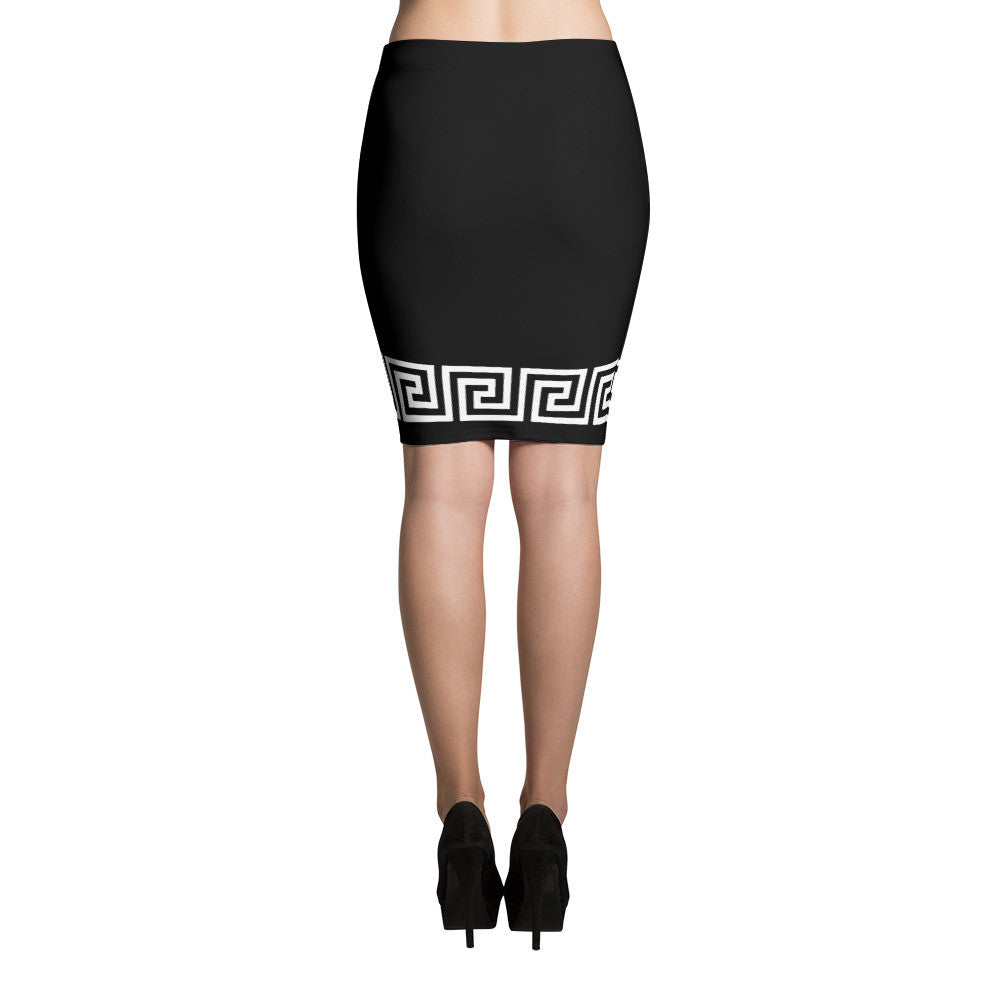 SHARP PENCIL SKIRT - Poetic Gangster