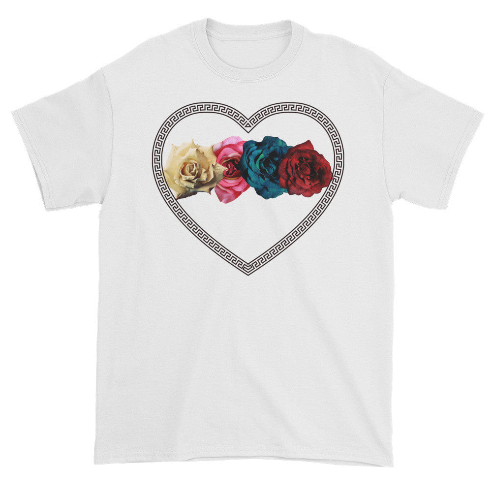 Roman Heart Tee - Poetic Gangster