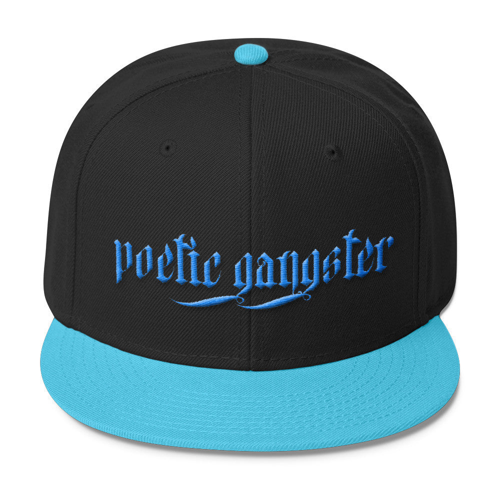 Poetic Gangster Blue Snapback - Poetic Gangster