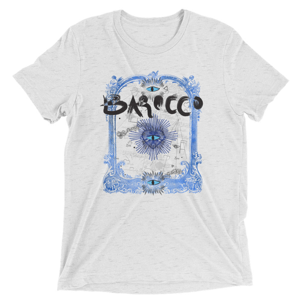 Barocco White T-shirt - Poetic Gangster