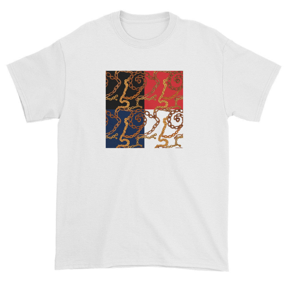 Gold Chain Tee - Poetic Gangster