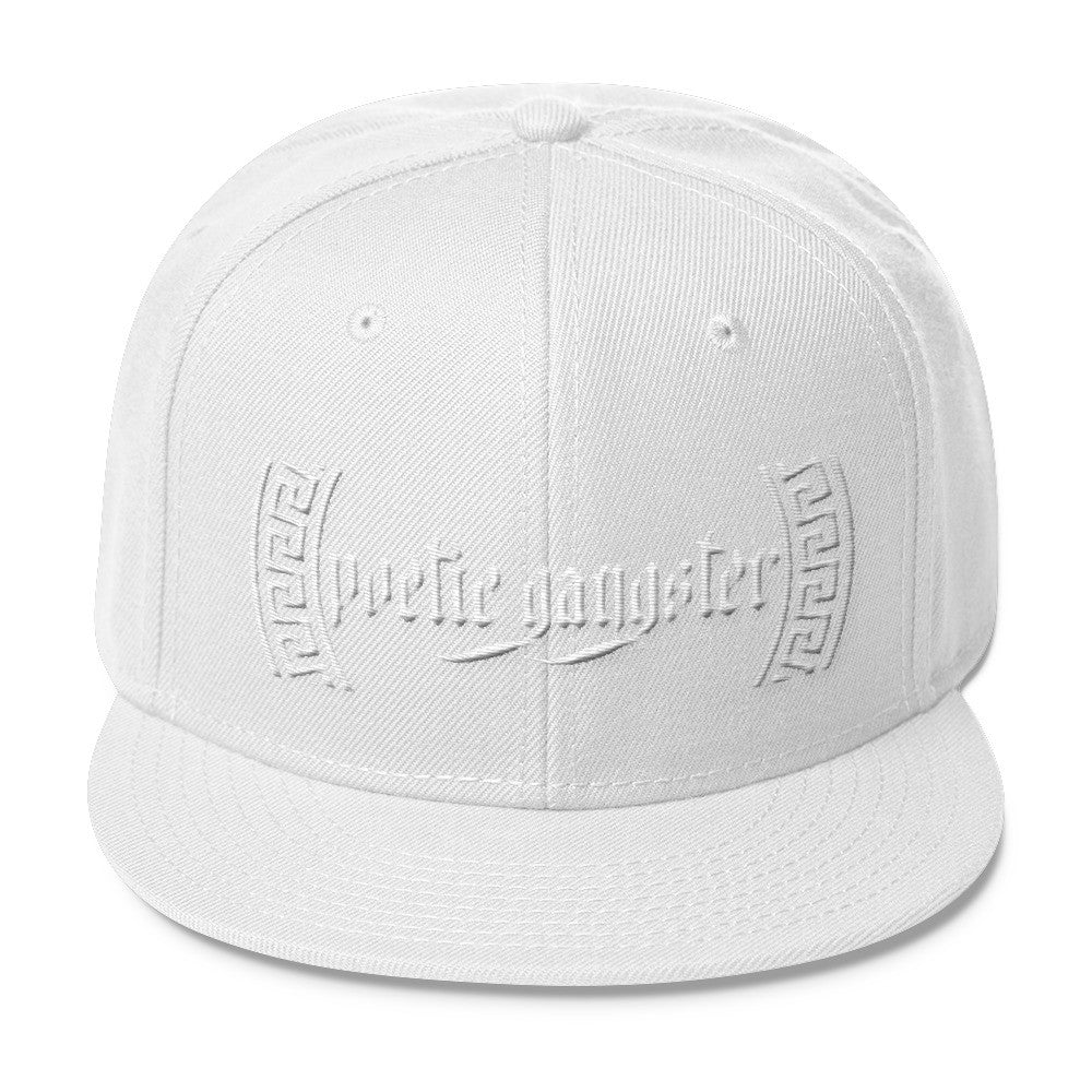 Poetic Gangster Greek Blend Snapback - Poetic Gangster