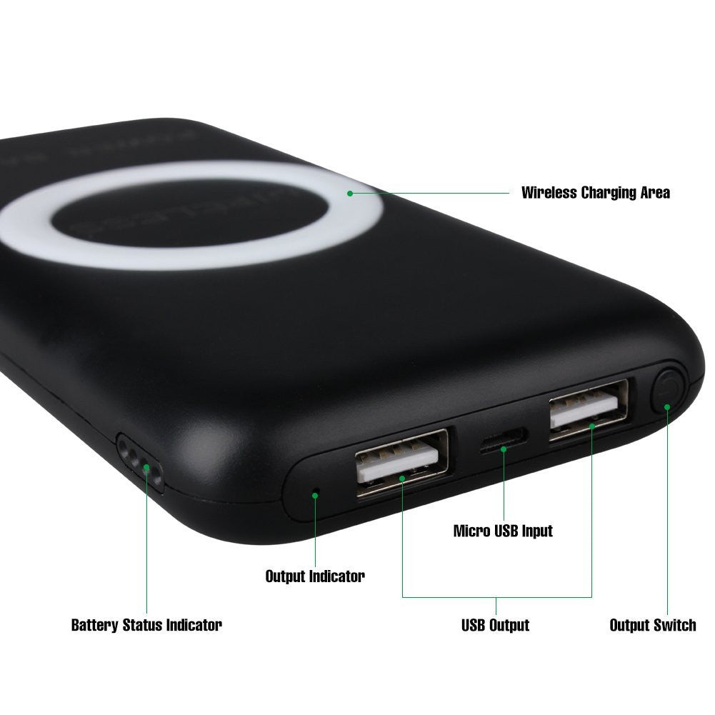 Wireless Charger Battery Pack for Halo Edge (12000mAh)