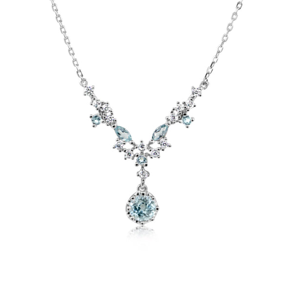 Aphrodite Omorfia Topaz Necklace