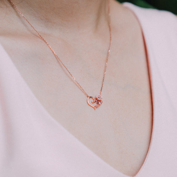 Inflorit Inima Necklace