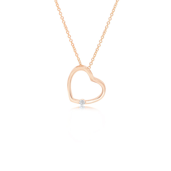 Mono Dragoste Rose Gold Necklace
