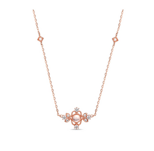 Chioni Rose Quartz Necklace (Preorder)