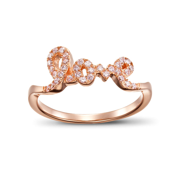 Ero's Love Rose Gold Ring