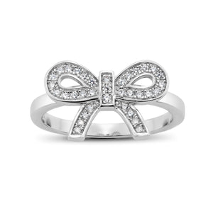 Ero's Ribbon White Gold Ring