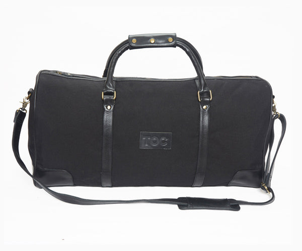 Globetrotter Holdall - Canvas | Black/Black