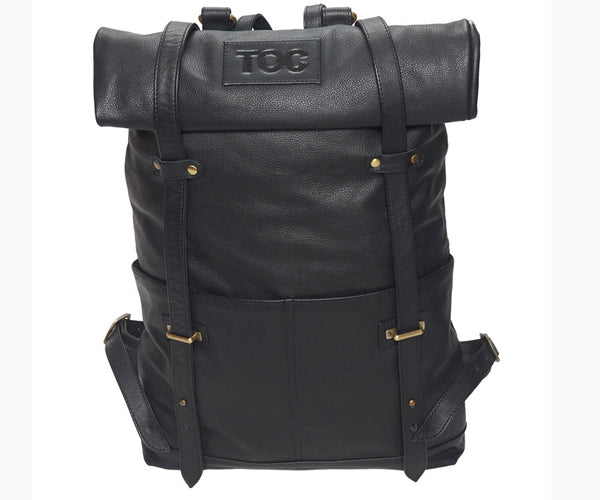 TOC Signature backpack - Leather | Black